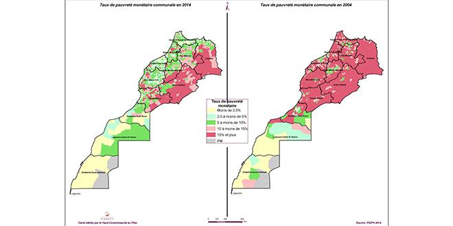 Le HCP actualise sa cartographie de la pauvreté