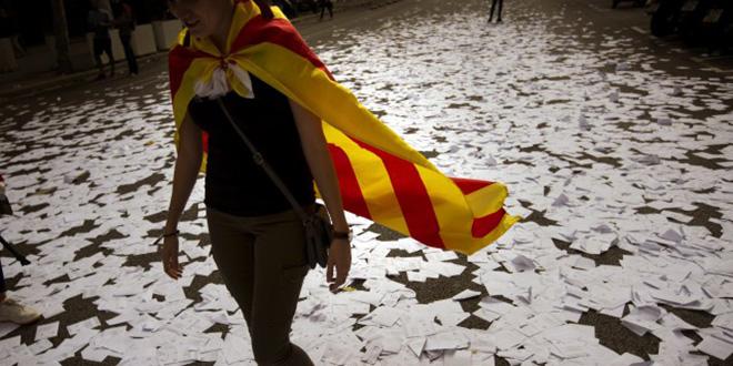 """Catalogne: 90% de """"oui"""" à l'indépendance"""