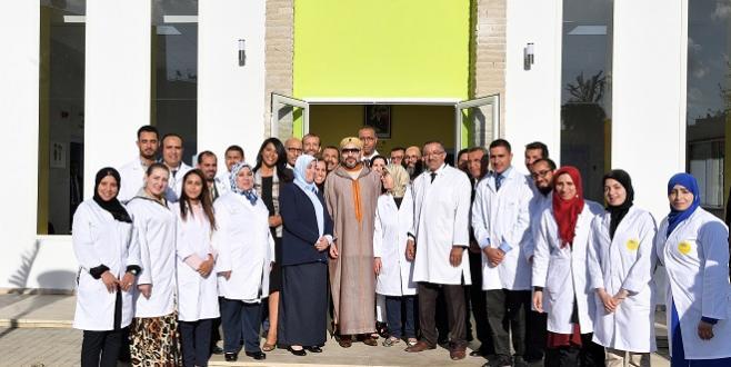 Casablanca : Le Roi inaugure un nouveau centre de formation