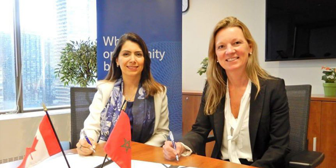 Accord de coopération entre CFC et Toronto Finance International