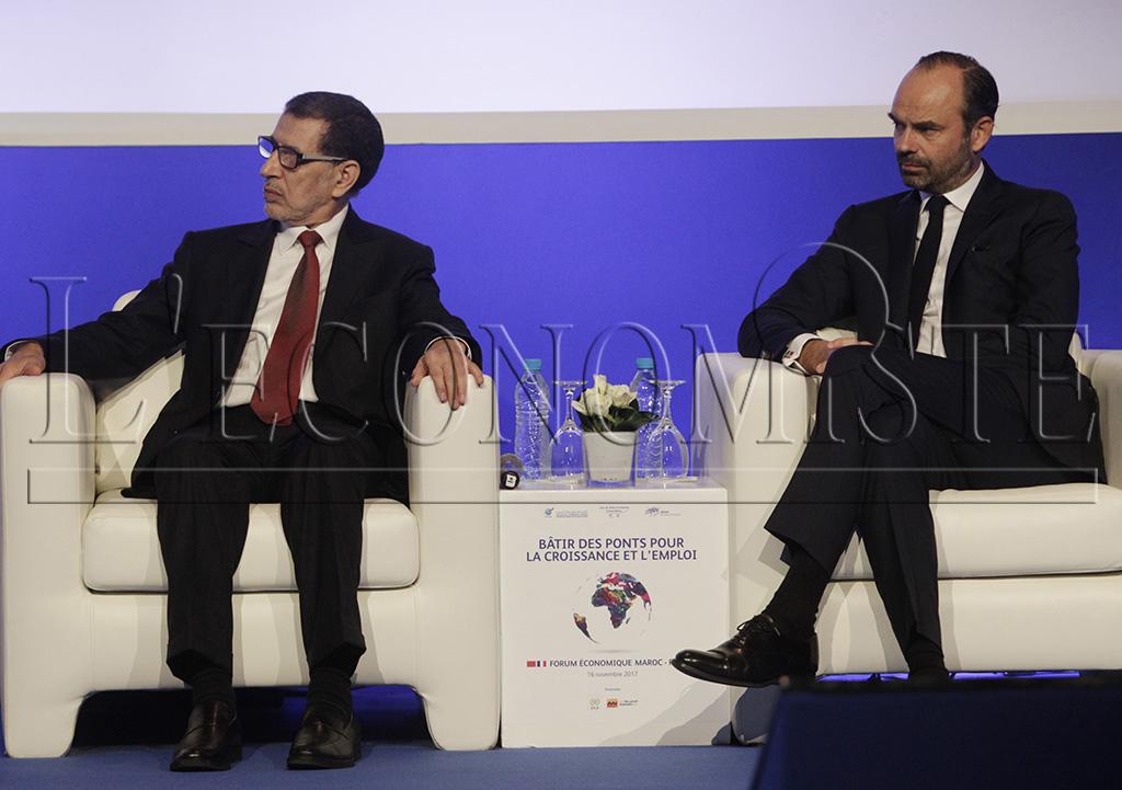 Saâdeddine El Othmani et Edouard Philippe