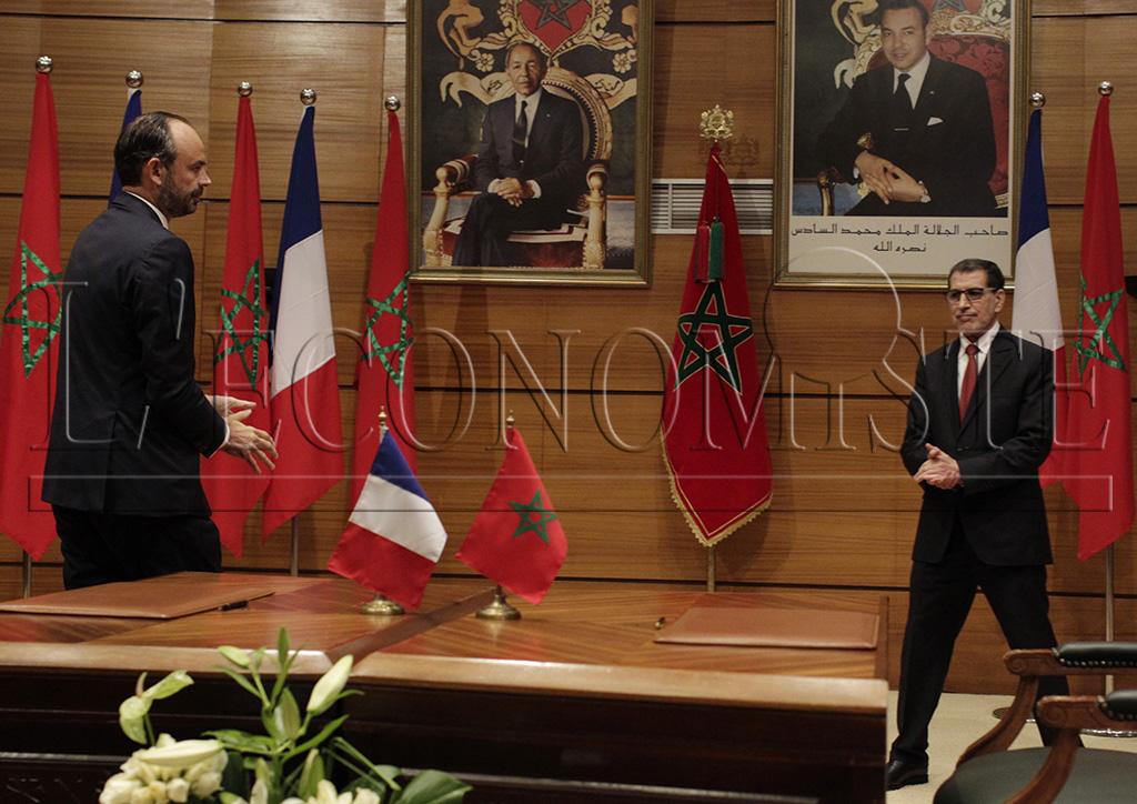 Edouard Philippe et Saâdeddine El Othmani