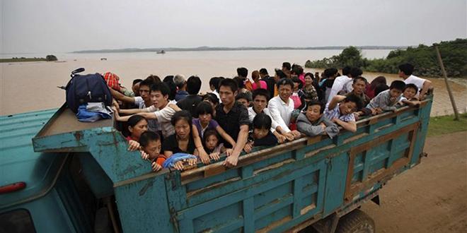 Chine: De fortes pluies font huit morts et sept disparus