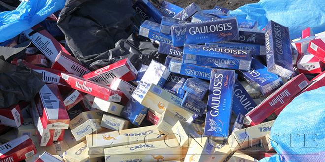 Contrebande : Grosse saisie de cigarettes à Tiznit