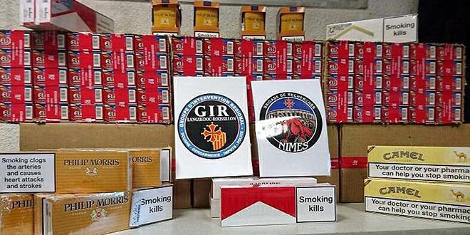 France : Hausse de 300% des cigarettes de contrebande algériennes