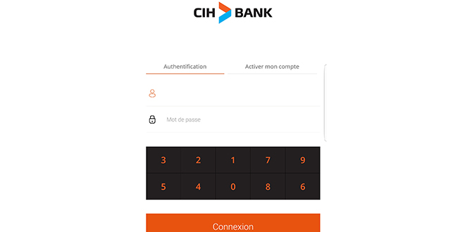CIH Bank dope son application mobile