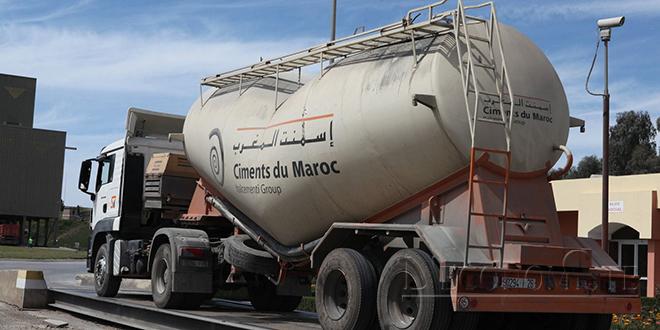 Ciments du Maroc renoue avec les gains