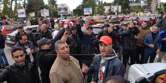 Fès: Les taximen en colère