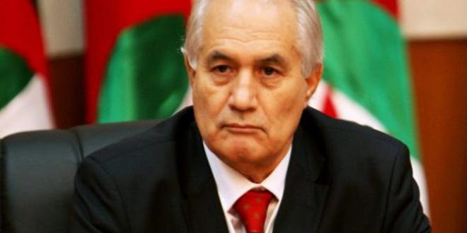En Algérie, le président du Conseil constitutionnel, Tayeb Belaiz, a démissionné