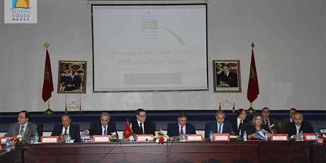 Souss-Massa : Le budget pour 2019 adopté