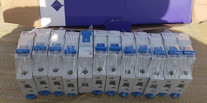 Contrefaçon : Saisie de fusibles électriques à Guerguerat