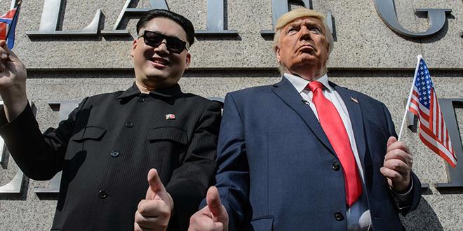 """Pyongyang: Trump le """"gâteux""""!"""