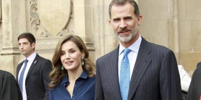 Le couple Royal Espagnol en visite au Maroc