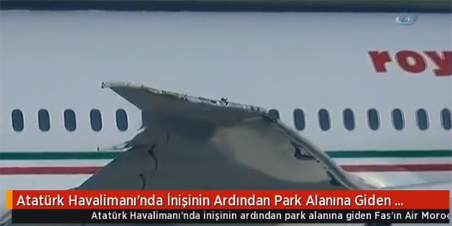 VIDEO/ Un avion de RAM percute un appareil de Turkish Airlines
