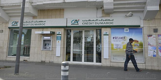 Crédit du Maroc booste son bénéfice