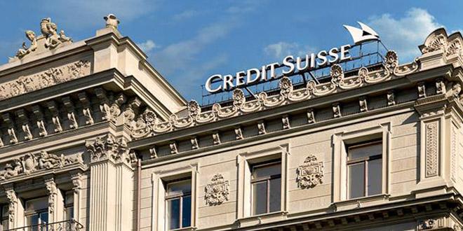 USA : Amende pour Crédit suisse