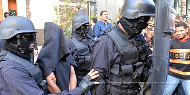 BCIJ: Arrestation d'un extrémiste qui planifiait un attentat-suicide