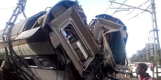 Accident de train à Bouknadel : Au moins 6 morts