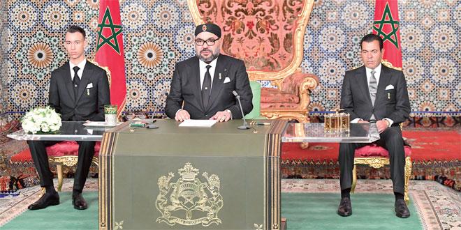 Révolution du Roi et du Peuple: Intégralité du discours royal