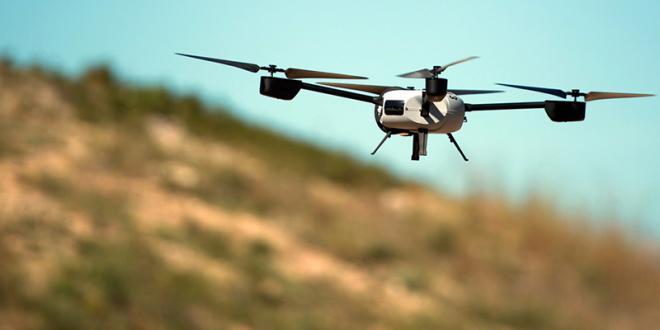 Un drone israélien survolant le Liban visé par un missile