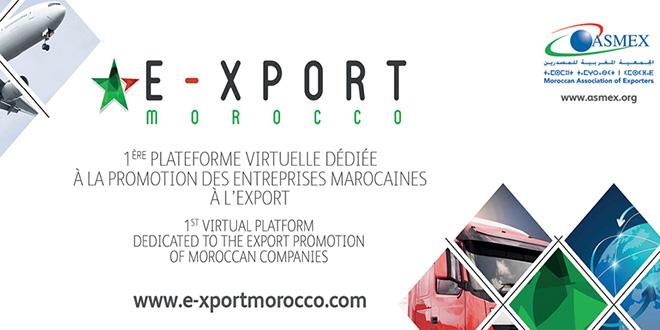ASMEX : nouvelle version de l'e-xport Morocco