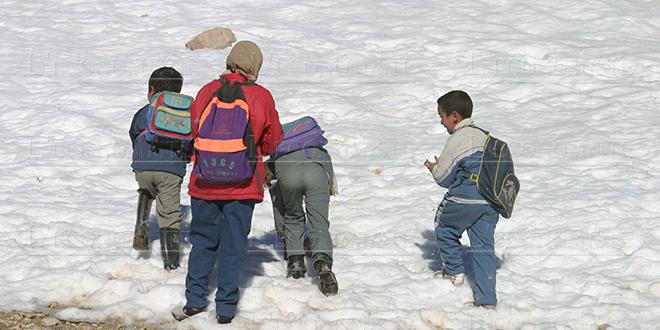 Froid : Les écoles touchées rouvrent leurs portes