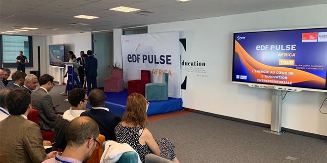 EDF Pulse Africa Tour Maroc: 3 startups primées