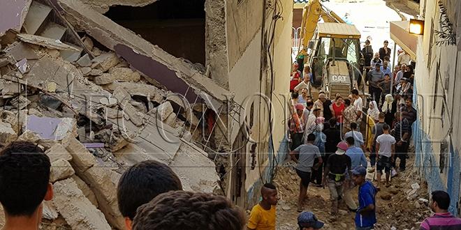 Fès-Effondrement de deux immeubles: Les riverains très en colère