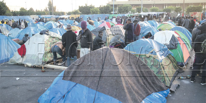 Casablanca: INSAF assiste les migrants