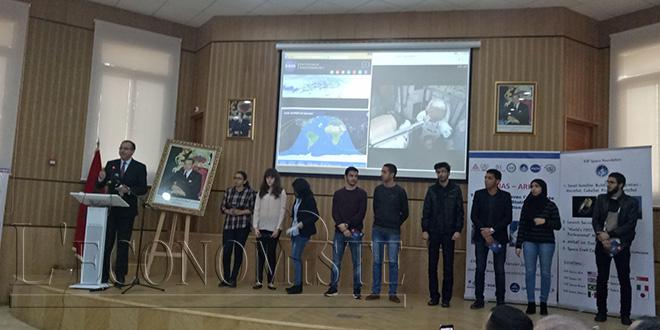 Connexion réussie avec la station spatiale ISS à partir de l'ENSIAS