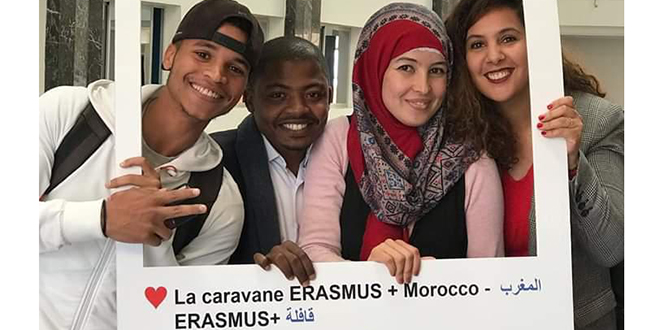 Erasmus+ : Plus de 2.800 bourses pour l'enseignement supérieur depuis 2014