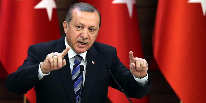 Recep Tayyip Erdogan dénonce la