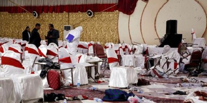 Kaboul: Carnage lors d'un mariage