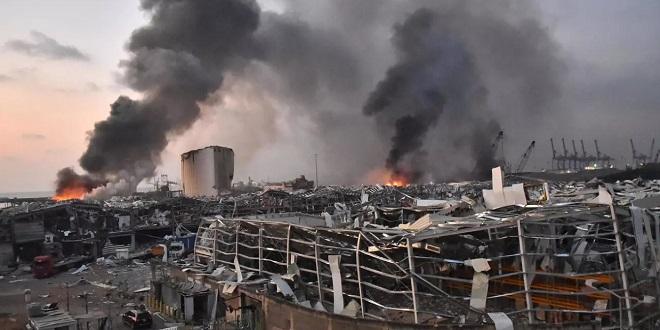 Beyrouth: Au moins 100 morts et plus de 4.000 blessés