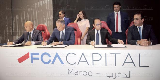 FCA Maroc étoffe ses activités au financement