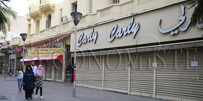 DIAPO/Casa : En colère, les commerçants du centre-ville ferment boutique