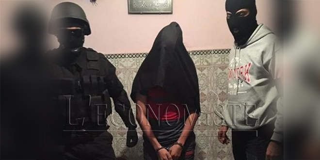 """BCIJ: Arrestation d'un extrémiste partisan de """"Daech"""" à Salé"""