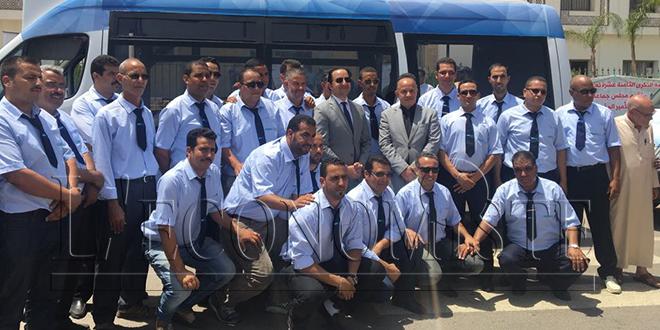 34 nouveaux minibus pour Fès