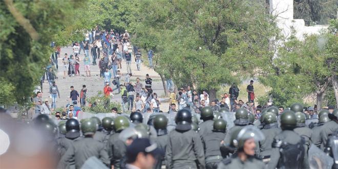 Affrontements entre étudiants à la Faculté des Lettres d'Agadir