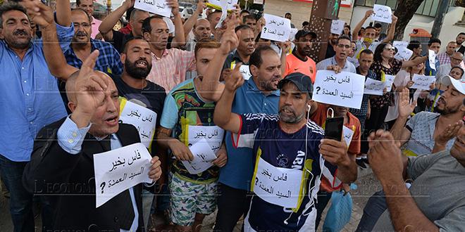 """Diapo/Fès : Des """"militants"""" réclament le départ du maire"""