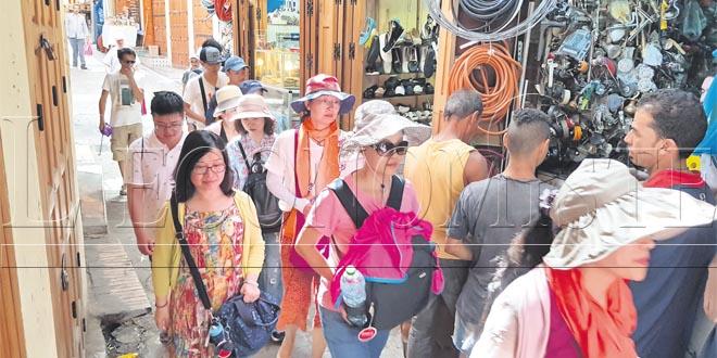 Tourisme : +7,6% d'arrivées à fin février