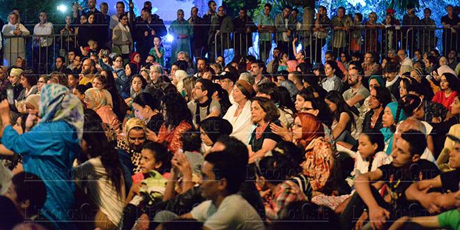 Diapo-Musiques sacrées: Grand rush pour Bab Boujloud