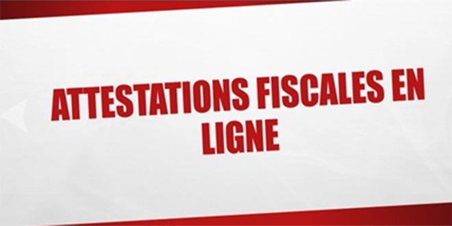 Lancement de 5 nouvelles attestations fiscales en ligne