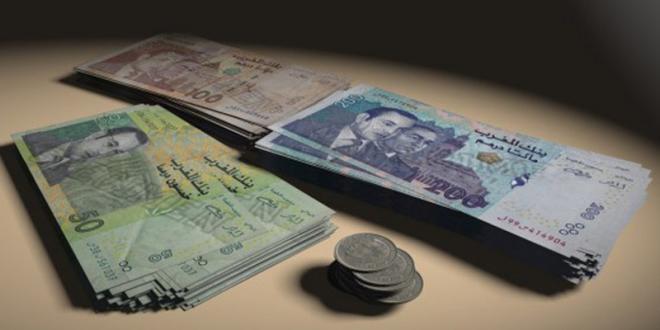 Hausse du dirham face à l'euro