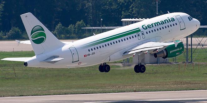 Aérien : Germania clouée au sol