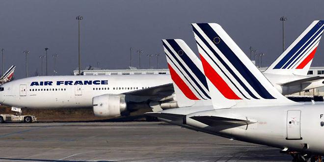 Air France : 1/4 des vols annulé mardi