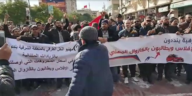 VIDEO/ Oujda : Les taximen ne décolèrent pas
