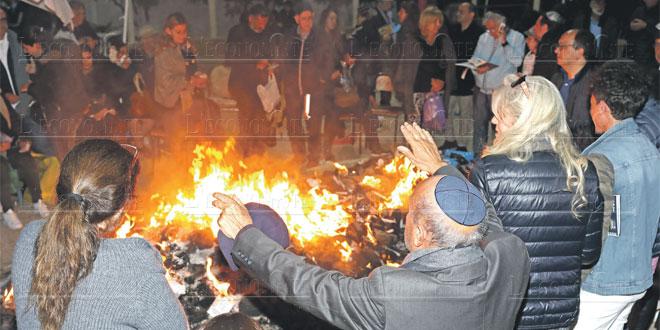 Célébration de Hanouccah à Essaouira