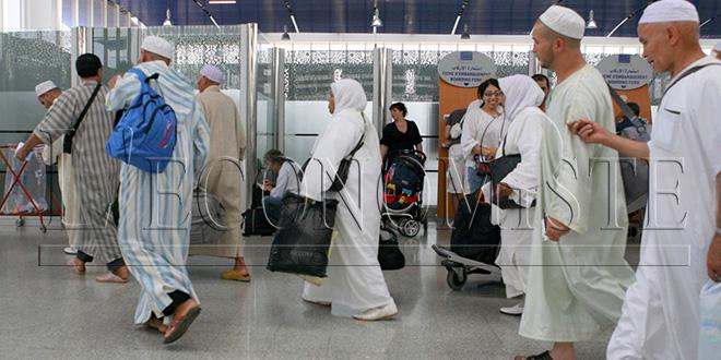 Hajj: Les pèlerins de retour à partir de vendredi