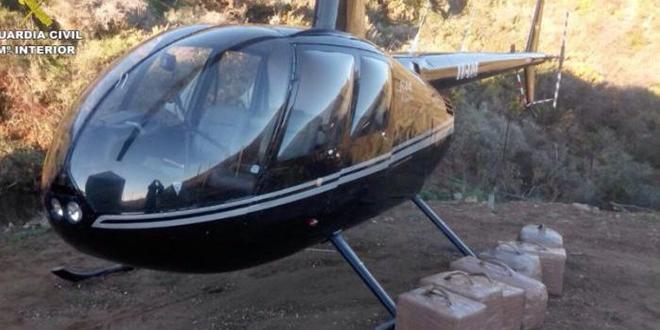Des hélicoptères pour transporter le haschich — Maroc-Espagne